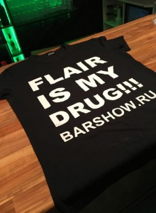 Футболка «Flair is my drug»